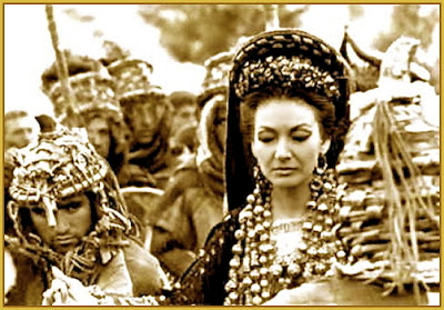 Maria Callas as Medea in Pier Paolo Pasolini's film Medea