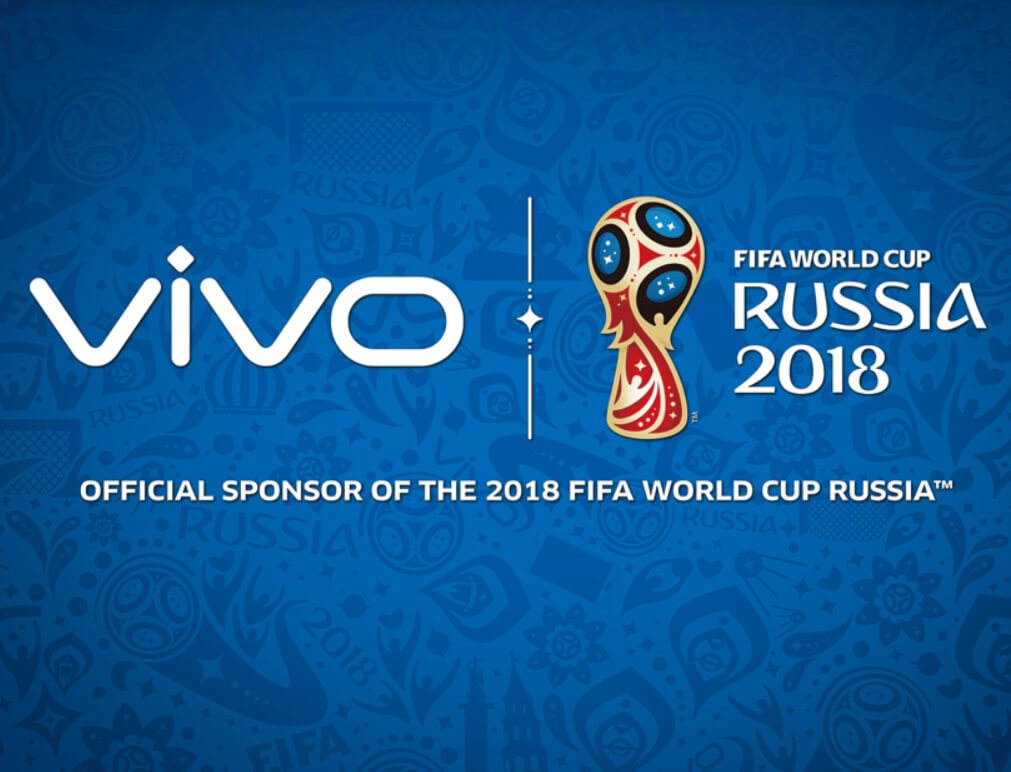 Vivo Is The Official Sponsor of 2018 and 2022 FIFA World Cup