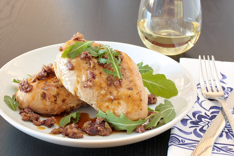slow cooker provencal chicken