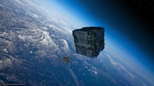 Un cubo, posiblemente extraterrestre, fue visto flotando sobre la base militar White Sands