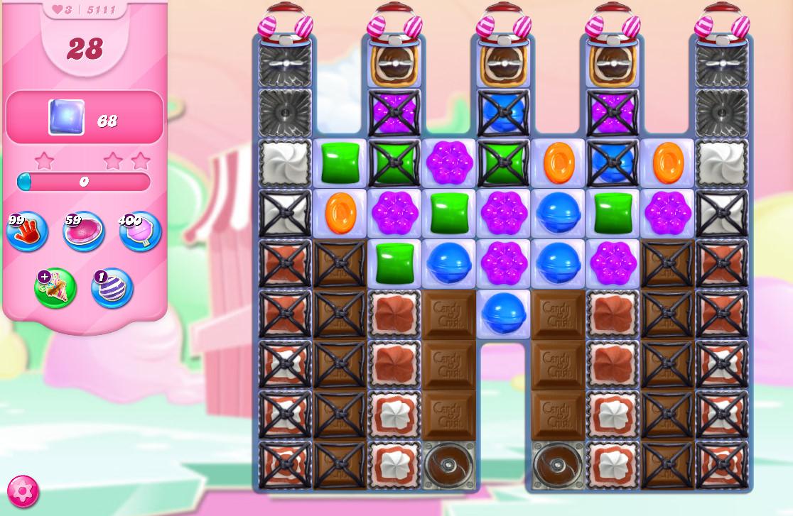 Candy Crush Saga level 5111