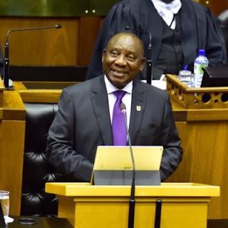 South Africa President Cyril Ramaphosa.