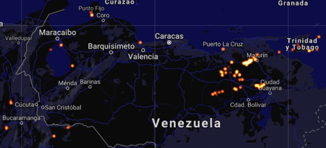 Crimen económico y ambiental: En Venezuela se queman 2 MMMcf de gas al día, con valor de 8.352 millones de dólares al año