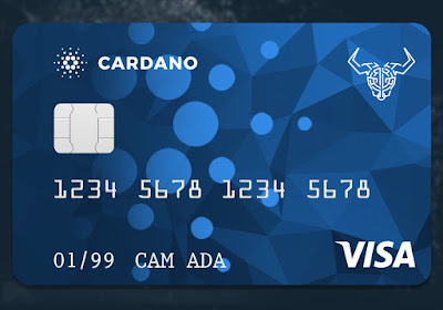 Cardano users can now have plastic cards