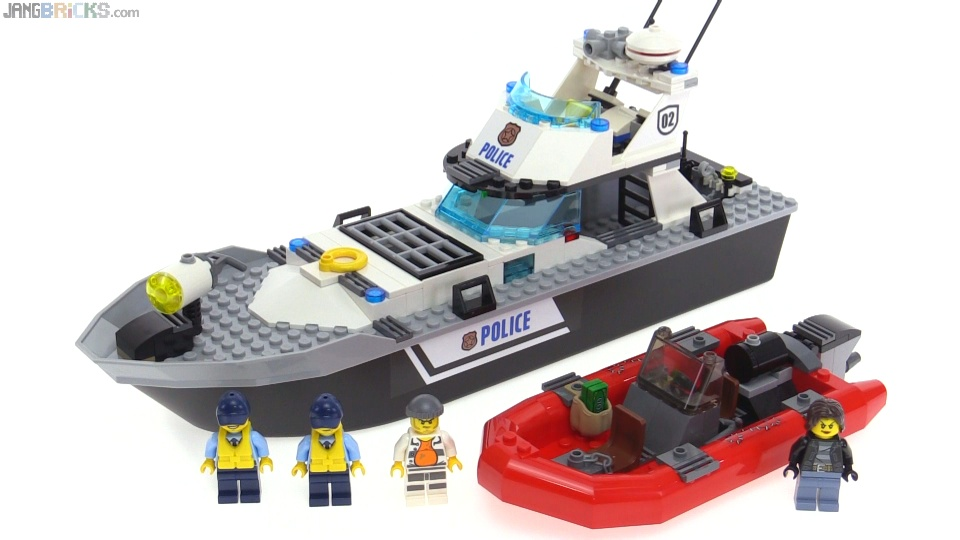 LEGO City 2016 Police Patrol Boat review! set 60129