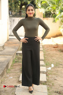 Tollywood Actress Punarnavi Bhupalam Latest Po Gallery in Black Trouser Pant at Pittagoda Movie Interview  0145.JPG