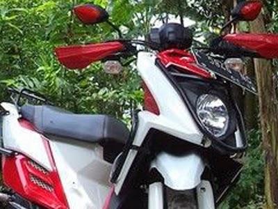 Modifikasi Yamaha X-Ride untuk Motor Touring