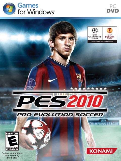 تحميل لعبة Pes 2010 مضغوطة برابط واحد مباشر كاملة مجانا
