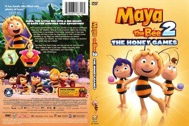 Maya the Bee 2 The Honey Games DVD Cover