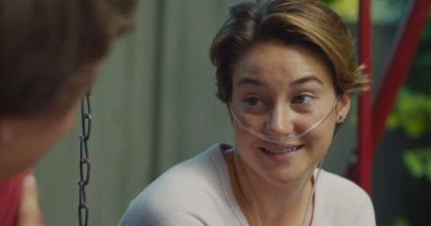 Shailene Woodley as Hazel Grace Lancaster in THE FAULT IN OUR STARS