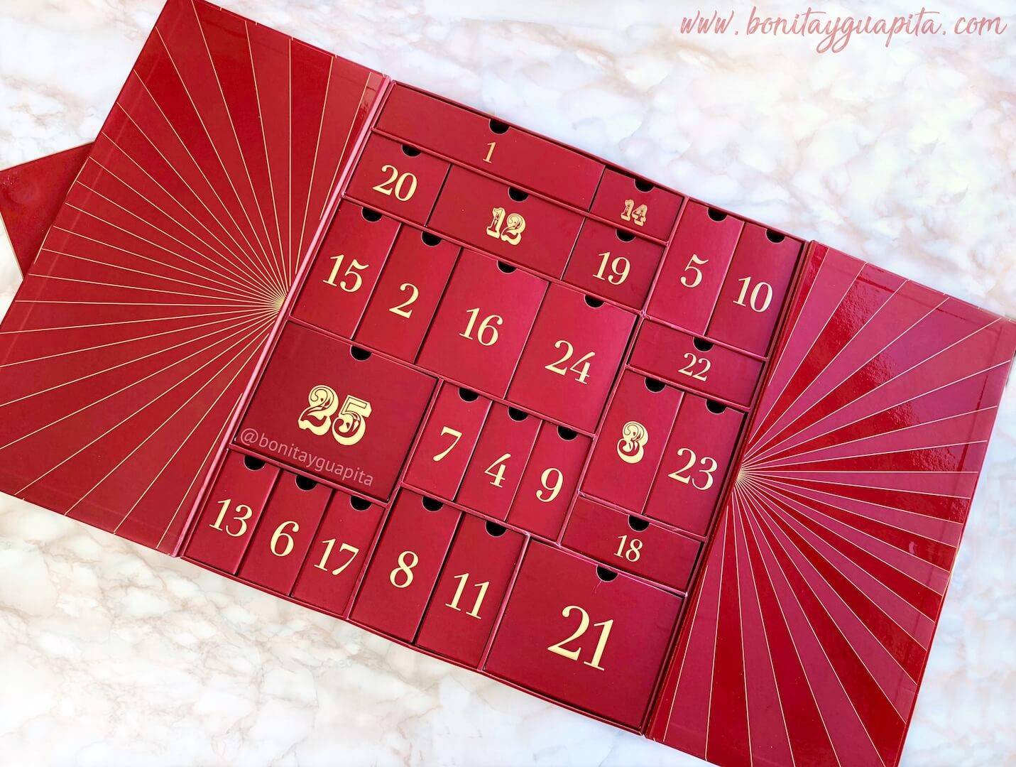 calendario adviento lookfantastic abierto