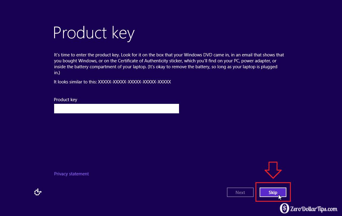how2 install windows10 without genuine windows key ~ hOw TO?
