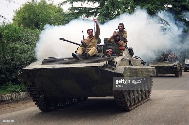 14 августа 1992 года началась война в Абхазии