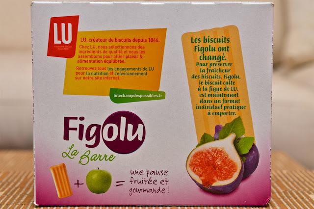Figolu La Barre - Figolu - LU - Mondelez - Dessert - Snack -Figue - Fig - Barre Figolu