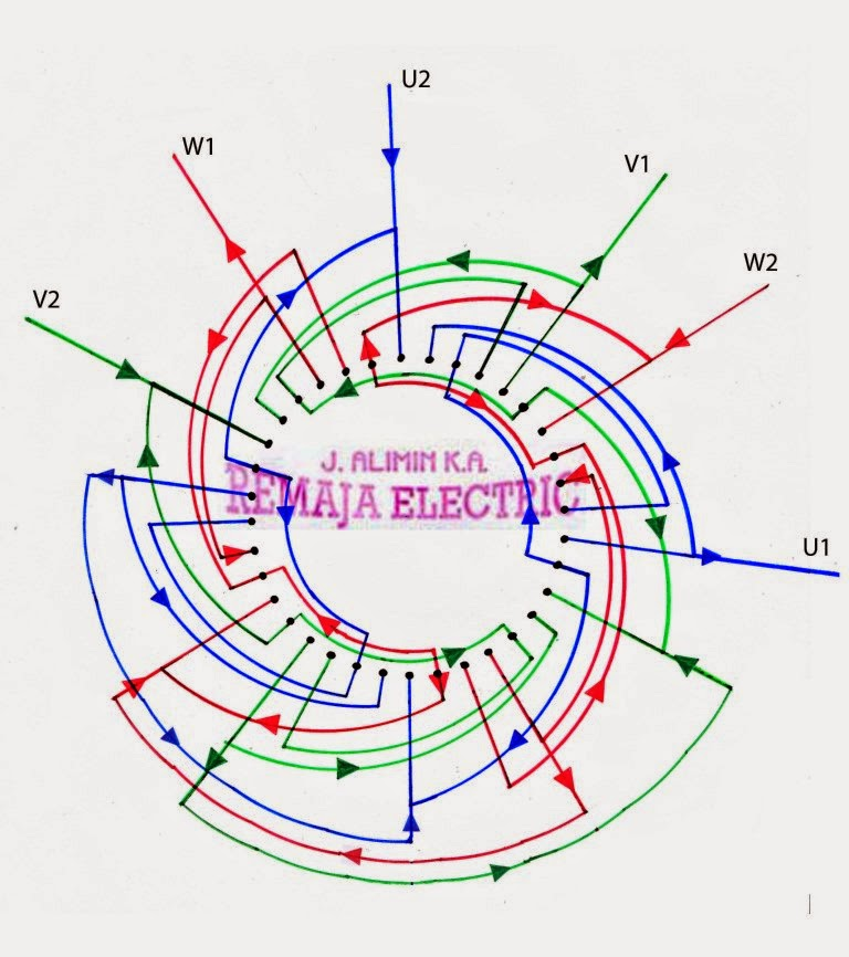 Ac Motor Winding Diagram5 - Today Diagram Database on