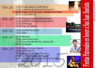 San Juan de Aznalfarache - Programa de Feria 2015