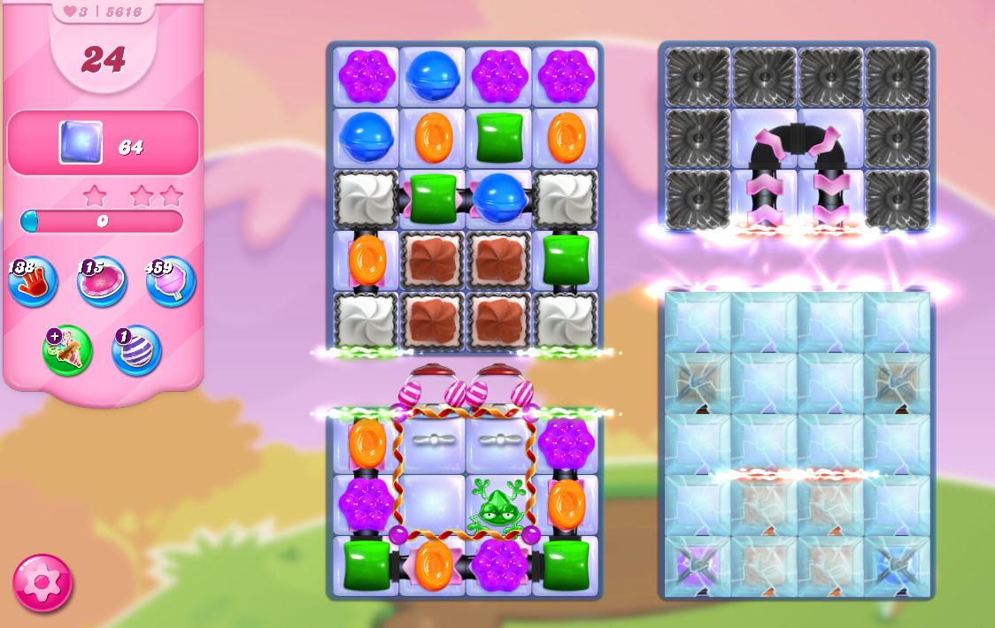 Candy Crush Saga level 5616