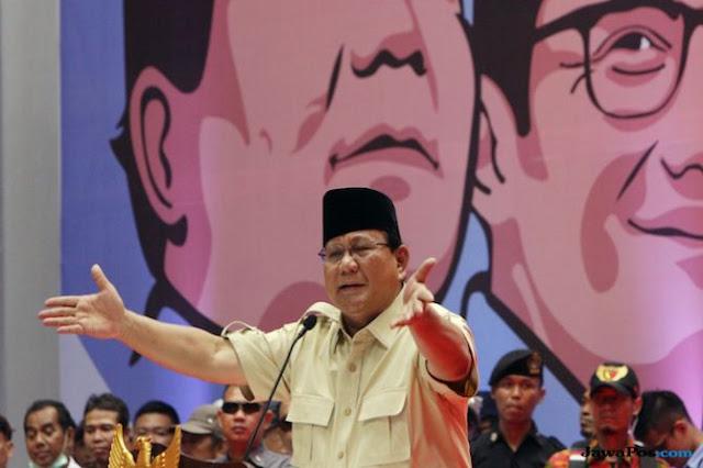 Prabowo: Hei Kau yang Punya Kekuasaan, Jangan Kira Rakyat Indonesia Mau Dibohongi Terus!