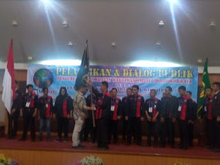 Pelantikan Pengurus IWO Bogor Raya dan Diskusi Publik Dibuka Oleh Bupati dan Walikota Bogor