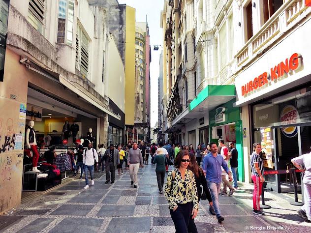 Vista da Rua São Bento - Centro - São Paulo