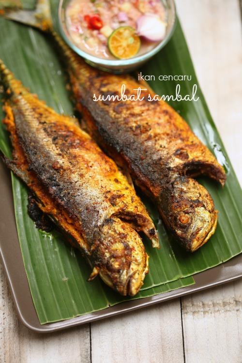 ikan cencaru sumbat sambal masam manis Resepi Sambal Kicap Untuk Ikan Bakar Enak dan Mudah
