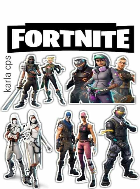 Fortnite Free Printable Cake Toppers Oh My Fiesta For Geeks