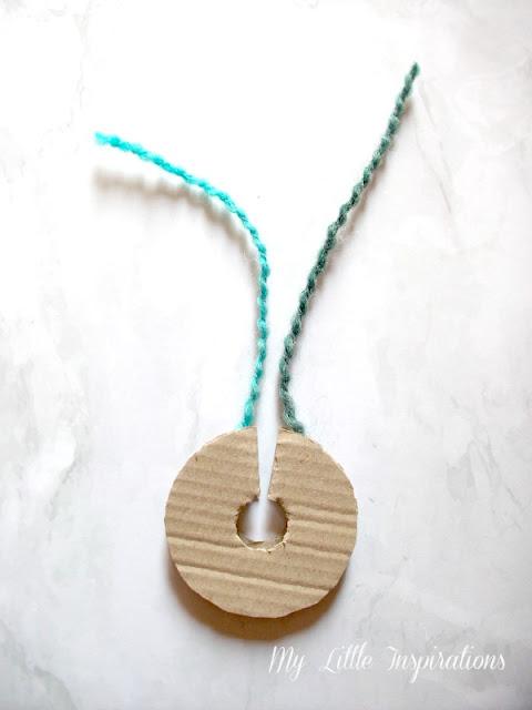 Zucche pom-pom DIY - gugliata filo  - MLI