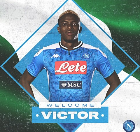 Napoli signed Victor Osimhen from Lille