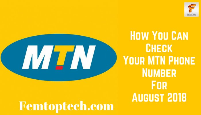 How You Can Check Your MTN Phone Number For August 2018