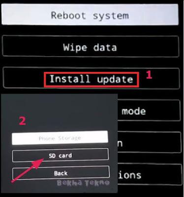 Cara Bypass FRP Akun Google Dan Hapus Pola Kunci Pada Layar Vivo V9 (1723) Android 8.1 Oreo On Via SD Card