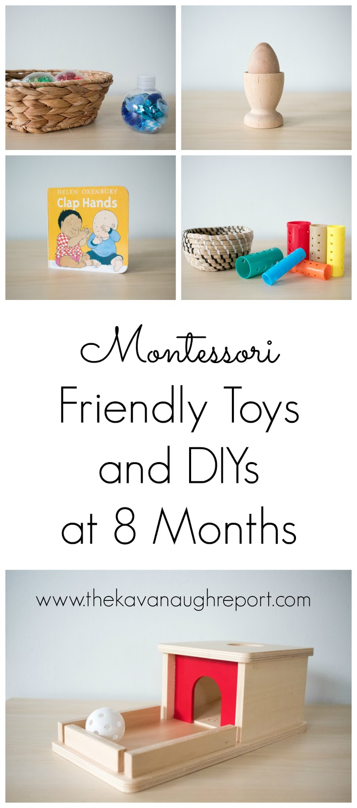 Montessori Friendly Toys And Diys At 8 Months