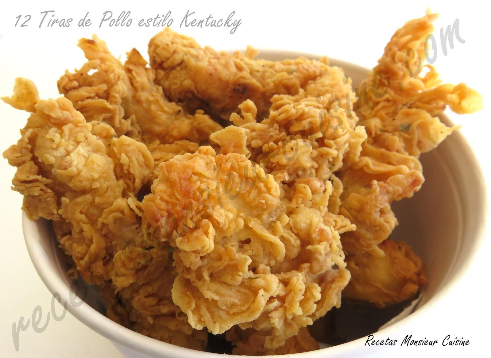 Recetas Monsieur Cuisine 12 Tiras De Pollo Estilo Kentucky