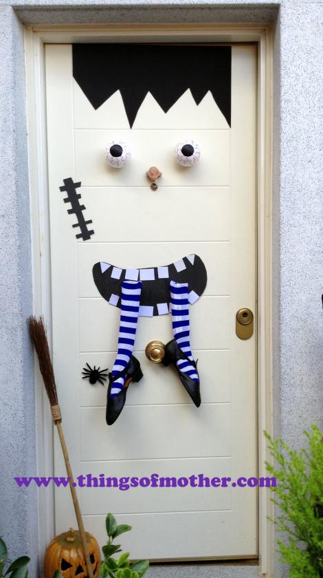 ideas para decorar puertas en halloween blog atendiendo