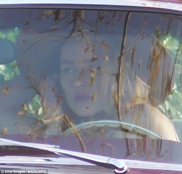 Amber Heard car