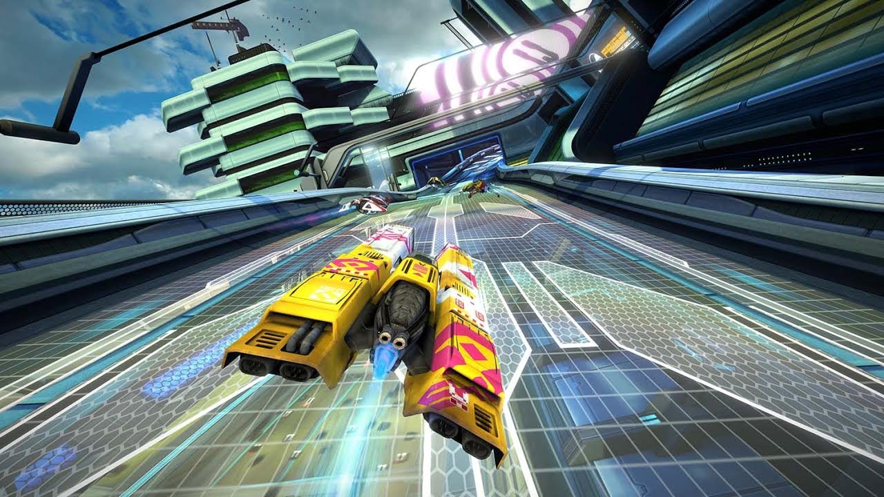 Ya disponible WipEout Omega Collection