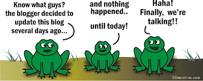 frogs cartoon