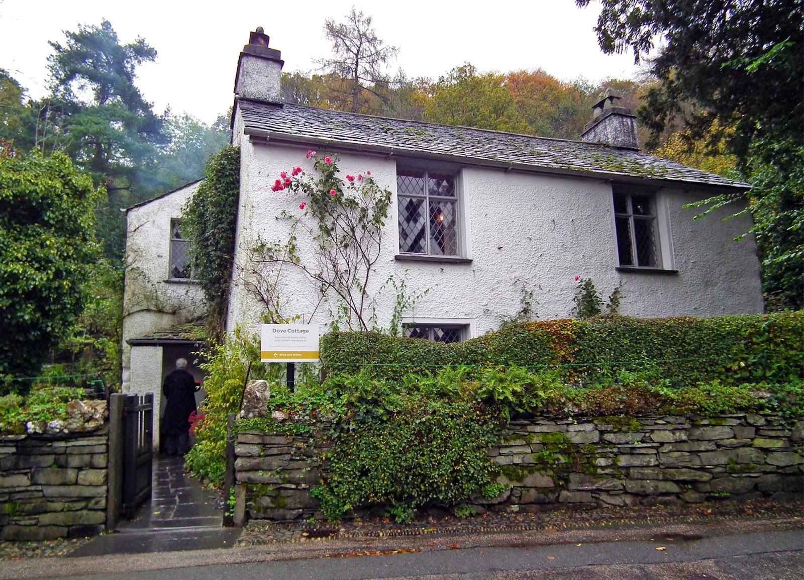 Dove Cottage, near Grasmere, Lake District.