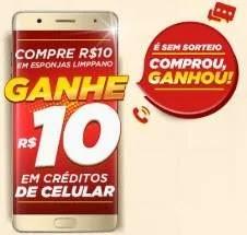 Cadastrar Promoção Limppano 2019 Comprou Ganhou 10 Reais Créditos Celular