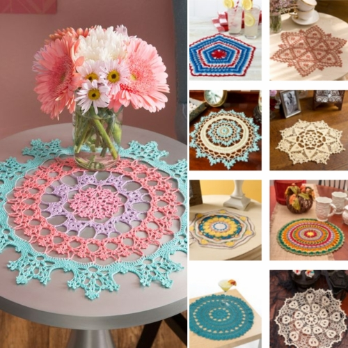 Joy of Doilies (20 designs) - Free Patterns