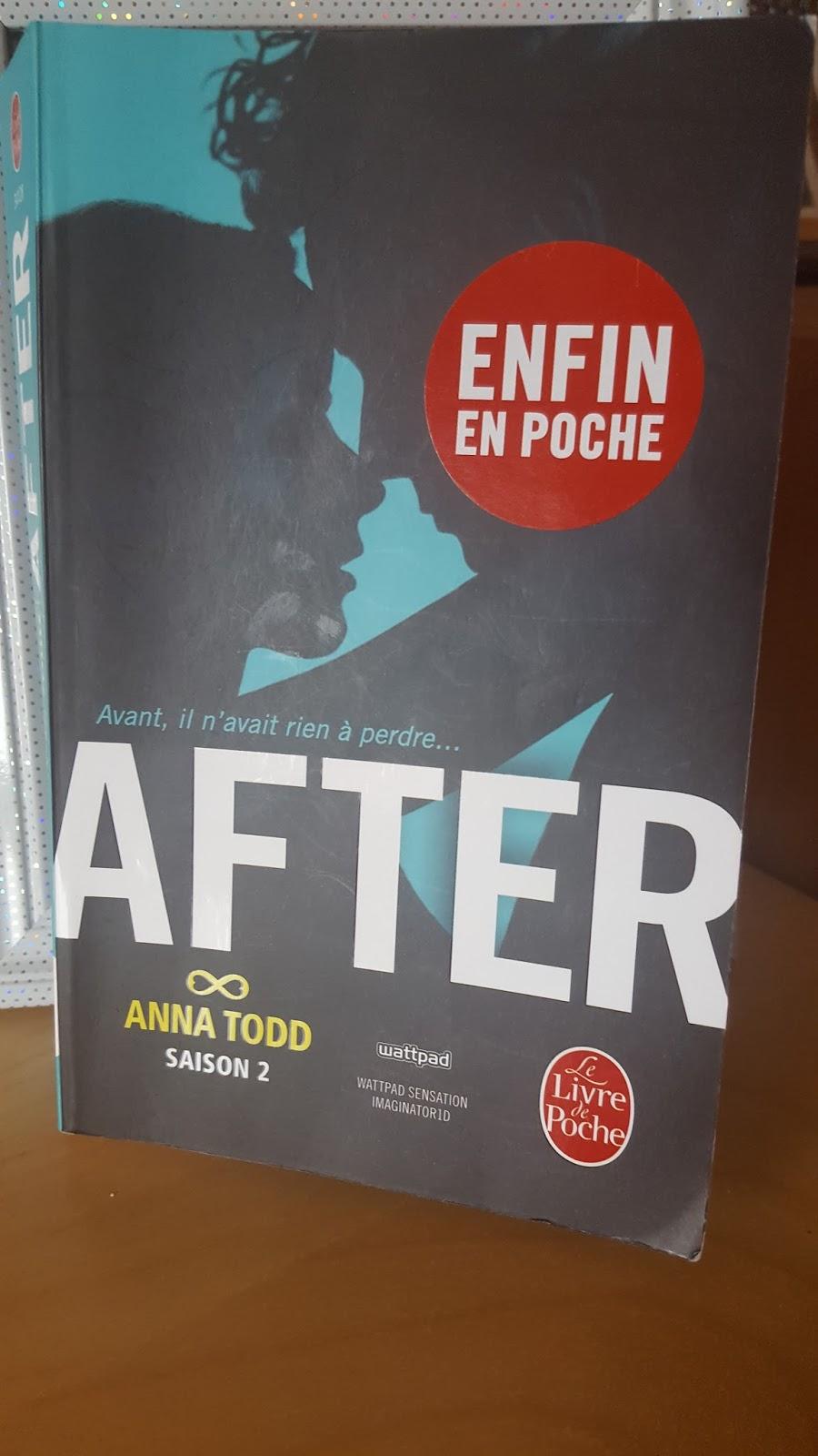 1 Mois 1 Livre En Janvier After 2 Le Blog De Marianne