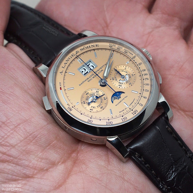 A. Lange & Söhne Datograph Perpetual Tourbillon with pink-gold dial 740.056