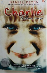 Novel Charlie by Daniel Keyes Bekas