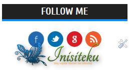 memasang follow button di sidebar blog