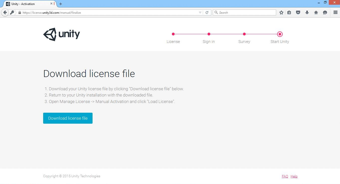 Unity3d License File - brickminder's blog