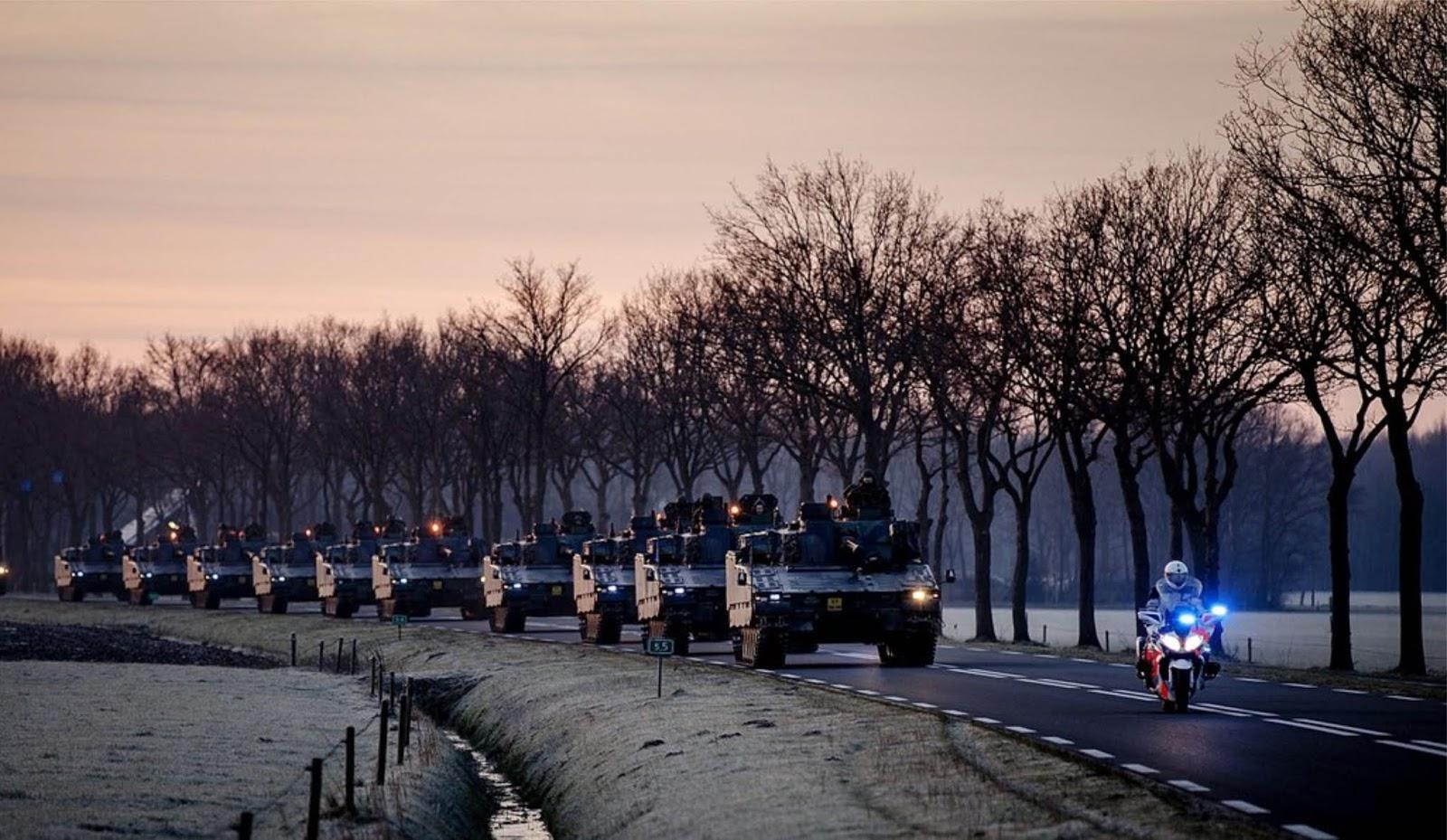 NATO mendorong Eropa untuk kesiapan infrastrukturnya menuju perang besar