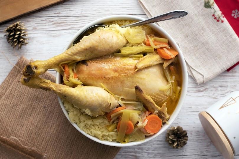recette marmiton poule au pot