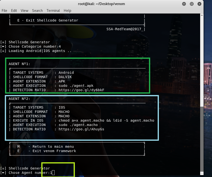 Venom - How to hack Ios, Android, window, unix by opening link using