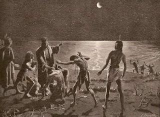 Eclipse lunar de Colón
