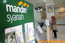 Lowongan Kerja Payakumbuh November 2017: PT. Bank Syariah Mandiri