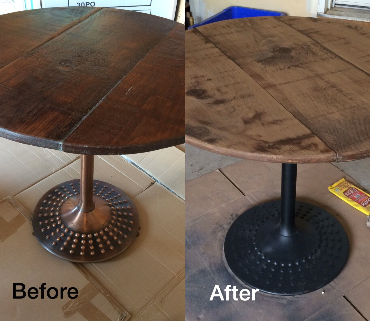 Delicieux The Original Stain Was Nice However It Was A Bit Too Dark. Here Are My Tips  On How To Stain And Strip Wood Furniture: